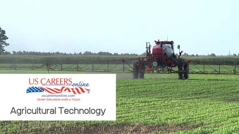 A video about Agricultural Technology  as a career.