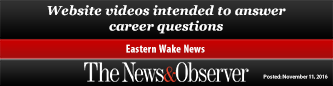 Website videos intended to answer career questions