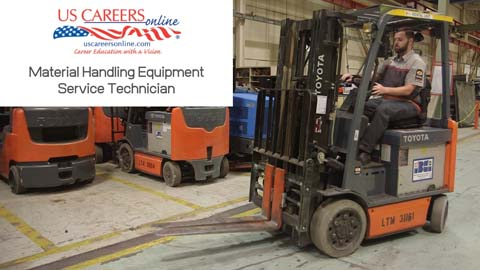 A video about Material Handling Equipment Technician as a career.