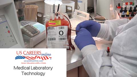 A video about Medical Laboratory Technician as a career.