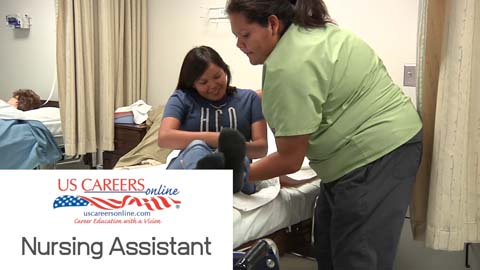 A video about Nursing Assistant as a career.