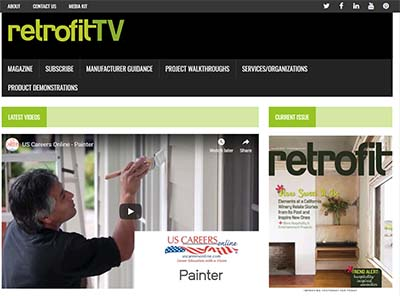 A link to a story about US Careers Online in Retrofit TV.