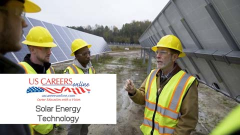 A video about Solar Energy Technology as a career.